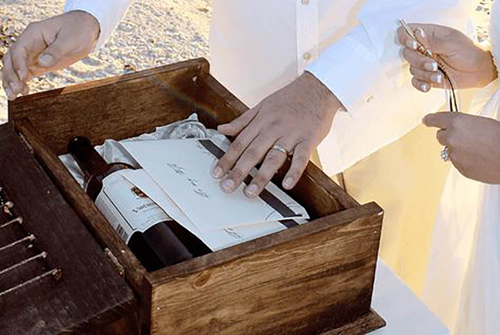 Love Letter Wine Box Ceremony
